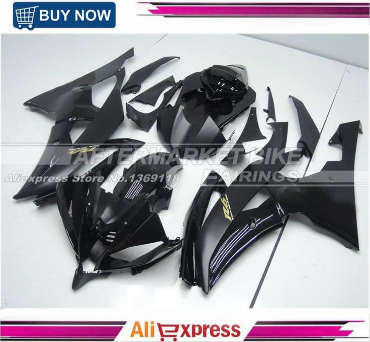 516.06$  Watch now - http://alip2z.worldwells.pw/go.php?t=32493792185 - Matte / Gloss Black Motorcycle Fairing Bodyworks For Yamaha R6 2008 2009 2010 2011 2012 2013 2014 Fairings Kits With Gold R6 516.06$