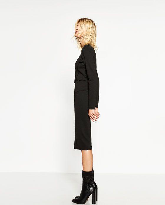 Image 3 of SLIM FIT SKIRT from Zara