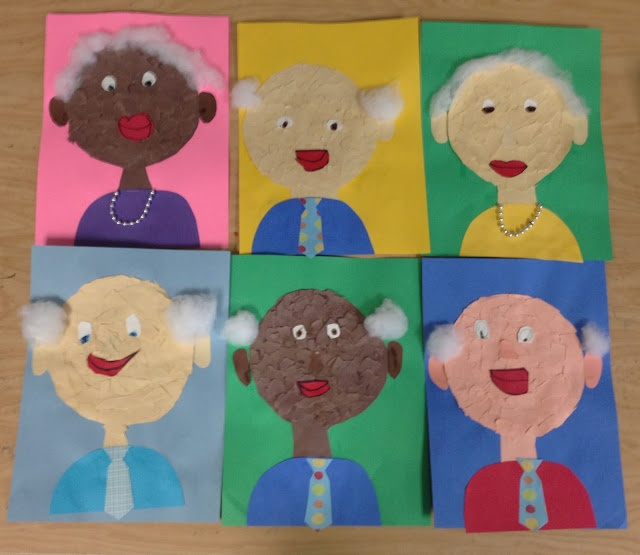 100th day of school. When I'm 100... from Apex Elementary Art