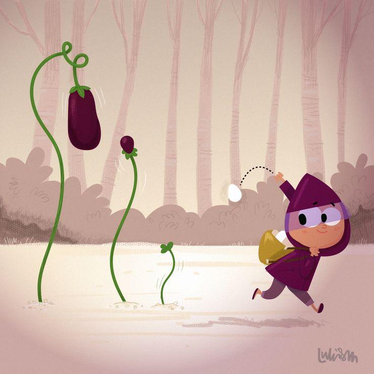 Eggplant by Luke Seguin-Magee