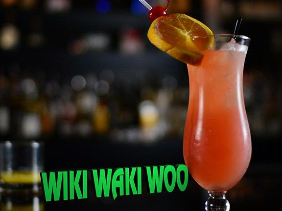 Drink of the Day:  Wiki Waki Woo Cocktail