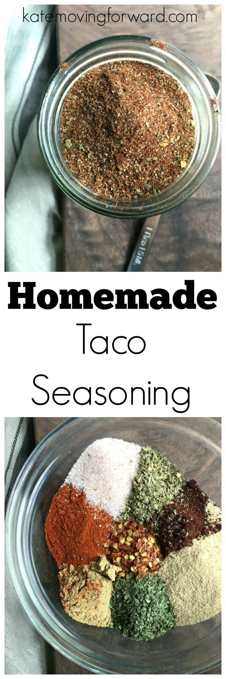 Homemade Taco Seasoning - Make your own DIY taco spice mix for tacos…