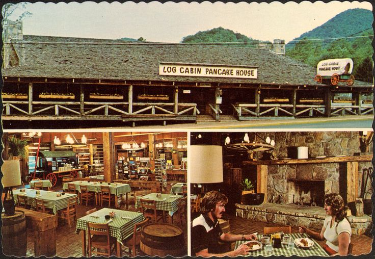 Log Cabin Pancake House Gatlinburg Tn Vintage Stuff Pinterest Gatlinburg Tn Krispy Kreme