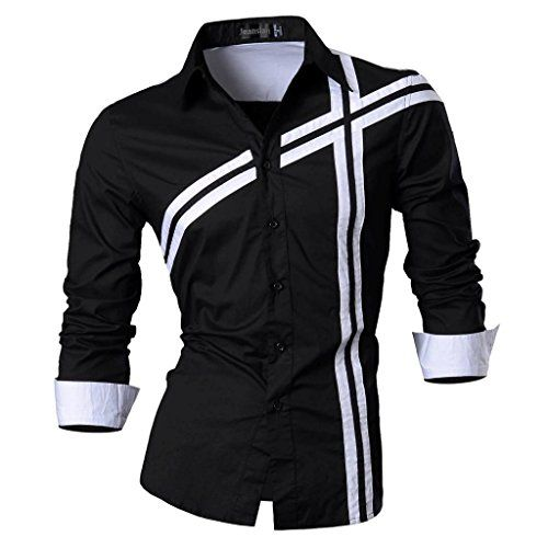 Jeansian Men's Slim Fit Long Sleeves Casual Shirts Z006 Black X-Large jeansian http://www.amazon.com/dp/B00M7P0ATW/ref=cm_sw_r_pi_dp_O5k.tb1PDBZHT