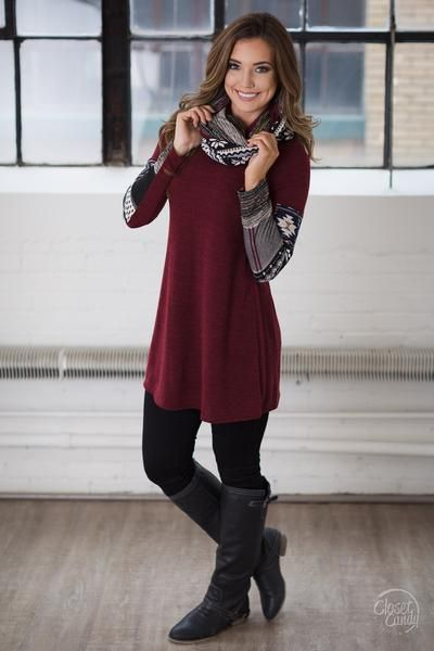 All kinds of fun call for this kind of tunic! You'll love all of the patterns this top has to offer including plenty of colors to match your favorite leggings A