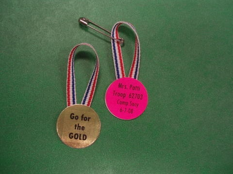 Olympic Gold Medal - modify as possible Greece SWAP for world thinking day