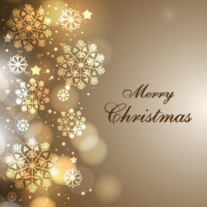 Free Vector elegant background Merry Christmas Wallpaper template ...