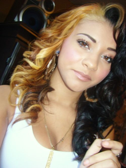 Got Swag That Mixed Girl | beautiful, colour, dope, girl, swag - image #353159 on Favim.com