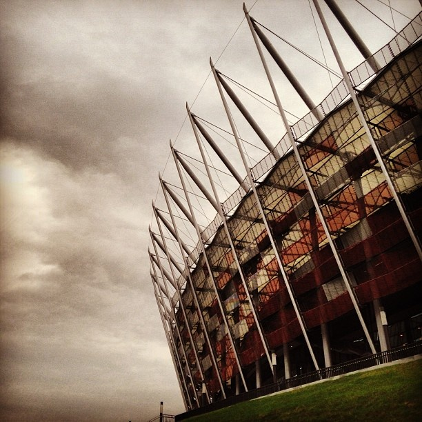 Found on Starpin #warsaw #stadium #stadionnarodowy