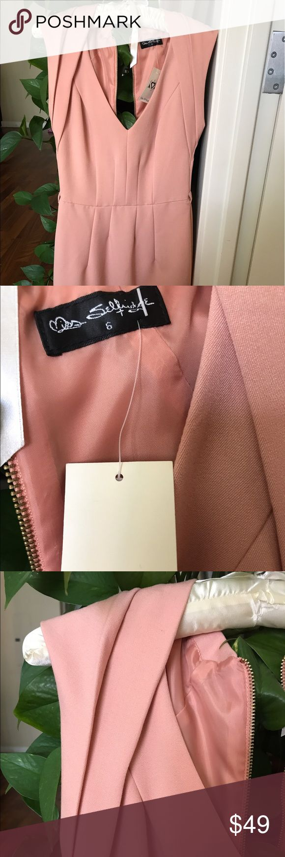 70% OFF 🔥Miss Selfridge UK dress with tags Gorgeous pink dress brand new with tags. Perfect for parties and to dress up. Washable fabric. It's a size 6 U.K., would say Xxs or 00 US as waist measurement is 24 inches. It's beautifully fitted with zip up in the back. Too small for me! Motivated to sell 😃 Miss Selfridge Dresses Midi