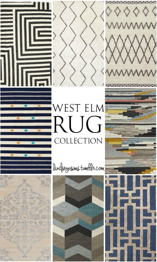 West Elm rugs collection at LindseyxSims via Sims 4 Updates