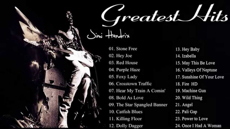 Best Songs Of Jimi Hendrix ||  Jimi Hendrix Greatest Hits [Full Album]
