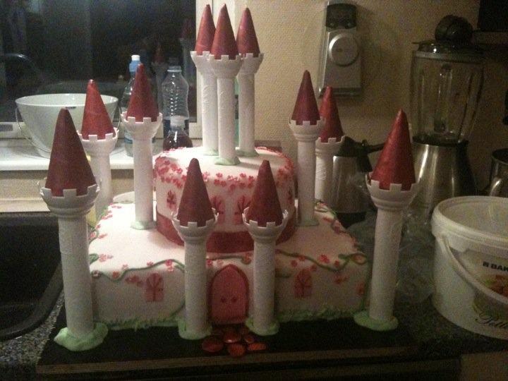 castle cake Slot kage