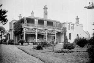 Argyle House, Mayfield circa 1900 later Murray Dwyer Orphanage, 31 British children were placed there in 1952, the building burned down