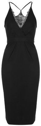 TopShop Womens **Midi Dress by Oh My Love - Black #dress #black #style