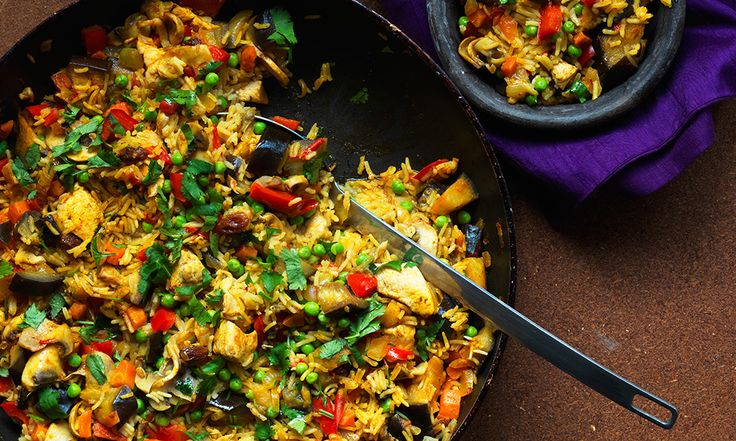 Ditch the takeaway and opt for a tasty, all-in-one dinner that's big on flavour, but small on calories.