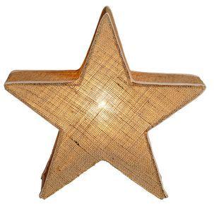 Stjärna i juteväv