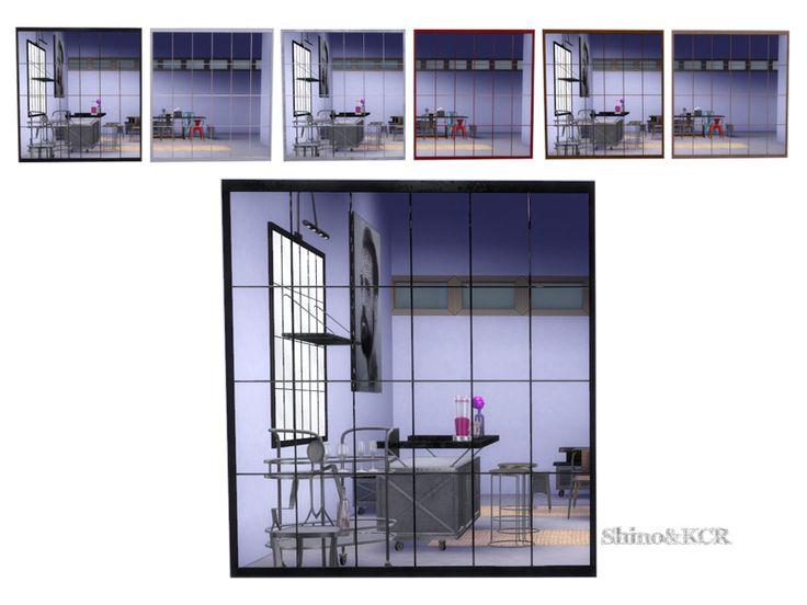 imagine a fabric window as mirror found in tsr category u0027sims 4