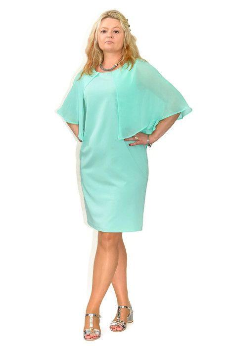 Elegancka Sukienka Plus Size Xl Xxl Xxl Marigold 40 60 Na