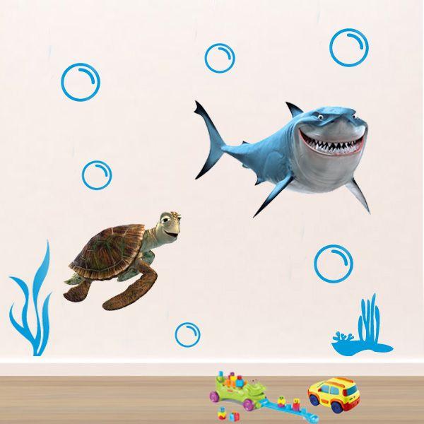 adesivo infantil para parede tartaruga – Pesquisa …