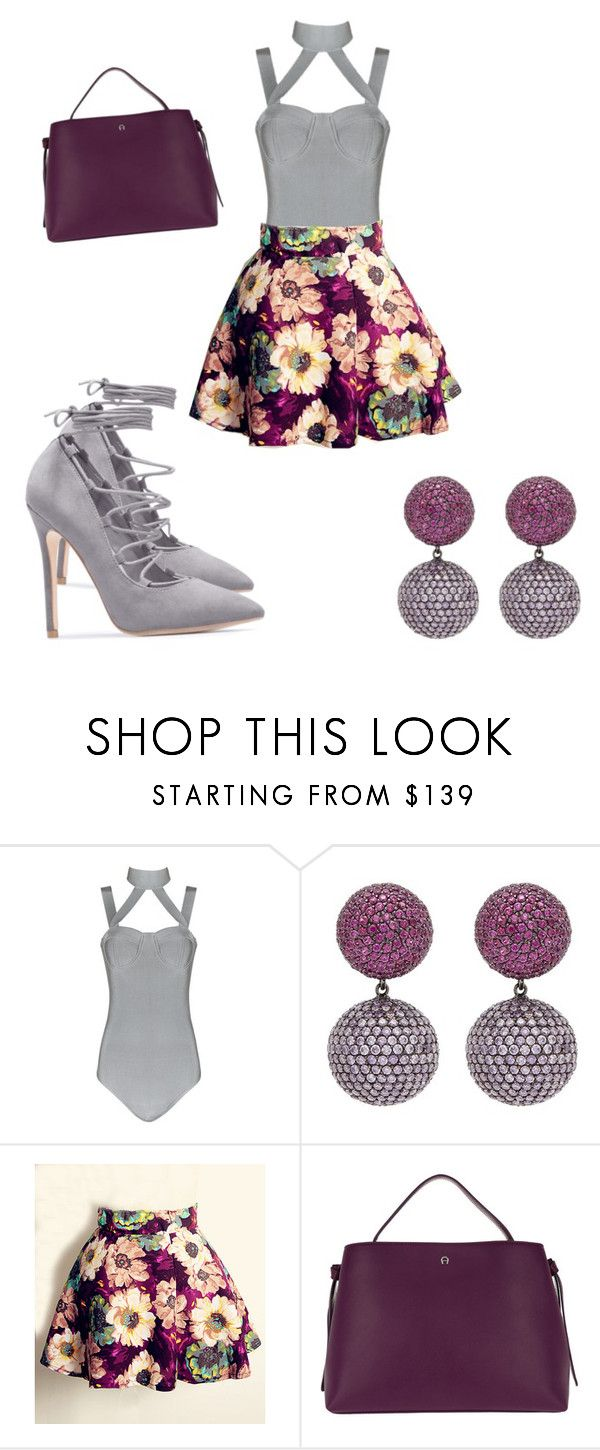 """""""Untitled #50"""" by barbiedollmecca ❤ liked on Polyvore featuring Anabela Chan and Etienne Aigner"""