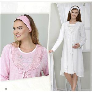 Haluk Bayram Lohusa Gecelik Sabahlık Pembe 3036 Yıllardır annelerin ya da anne adaylarının giyimiyle uğraşan dünya markası Ba-Ha bu alanda en çok tercih edilen şık tasarımları ile mağazalarımızda