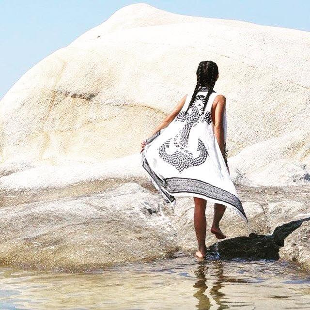 #beach #essential #pareodress #ANCHOR #available @ www.cleogkatzeli.com  http://www.gkatzeli.com/product-category/beachwear/pareos/pareo-dress/