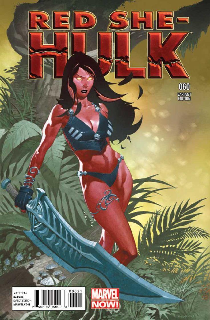 Red She-Hulk #60 - Hell Hath No Fury, Part Three (Issue)