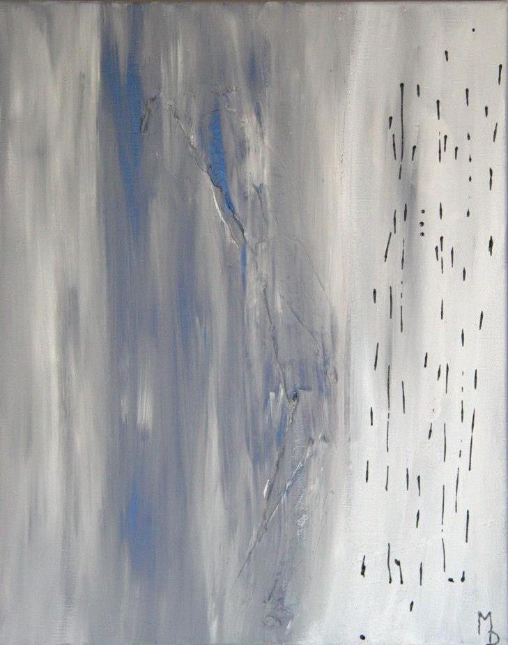 Pluie glaciale    16x20 po    150$ www.mariedeschene.com