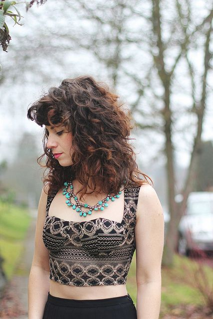 Delightfully Tacky: How to cut your own curly hair - am I ballsy enough to do this?