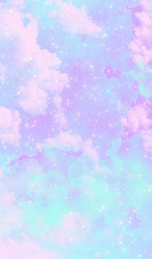 Pink Cute Background Lock Screen