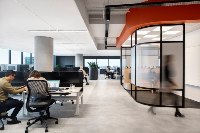 Office Tour Qbe Insurance Offices Melbourne Workplace Design