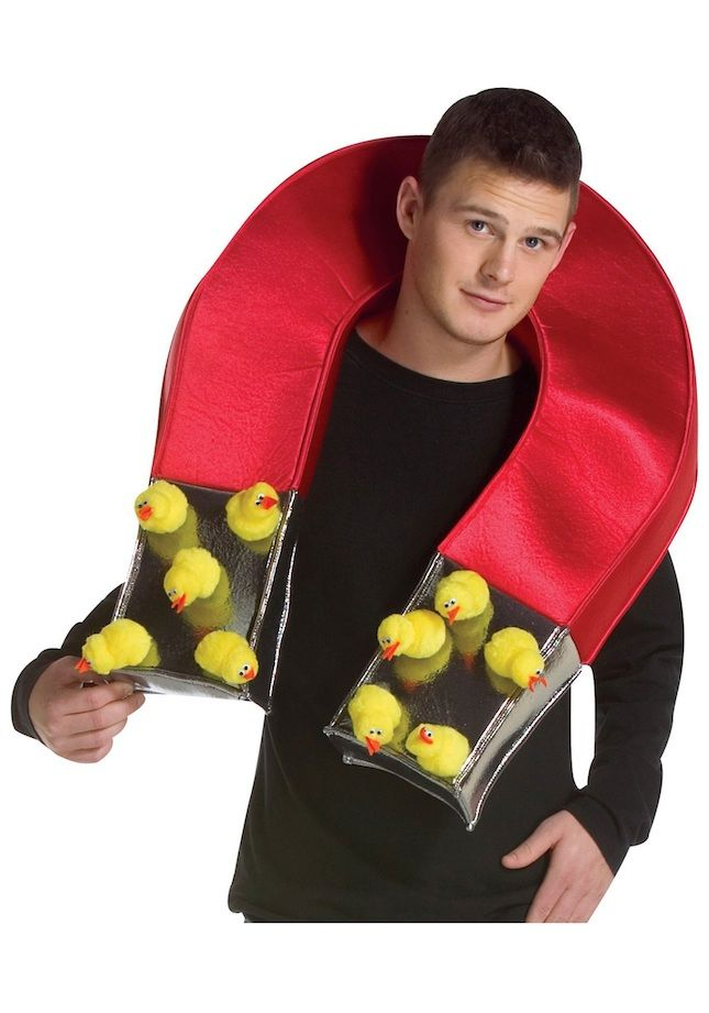 This Chick Magnet costume is too funny.