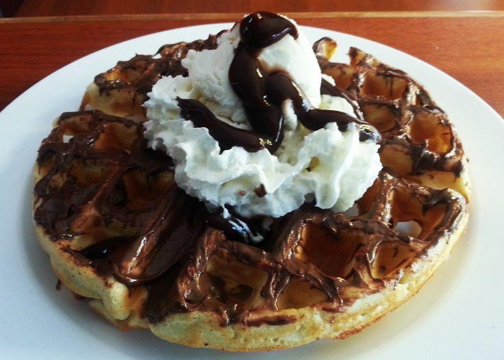 Waffle de Nutella Sapore Mio