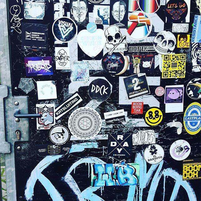 Rotterdam #stickers #streetartrotterdam
