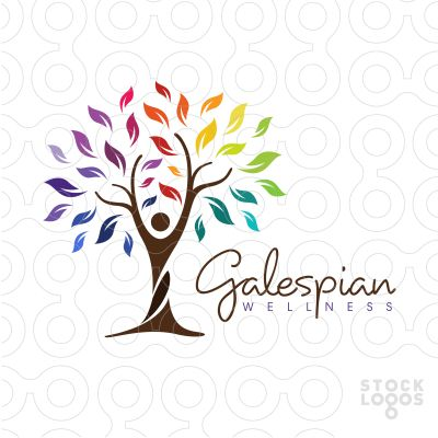 Exclusive Customizable Logo For Sale: Galespian Wellness