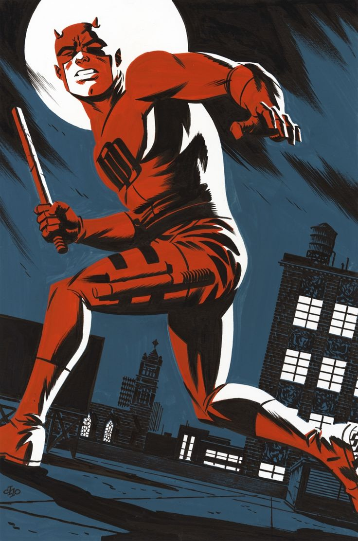 Daredevil in Hell's Kitchen by Michael Cho