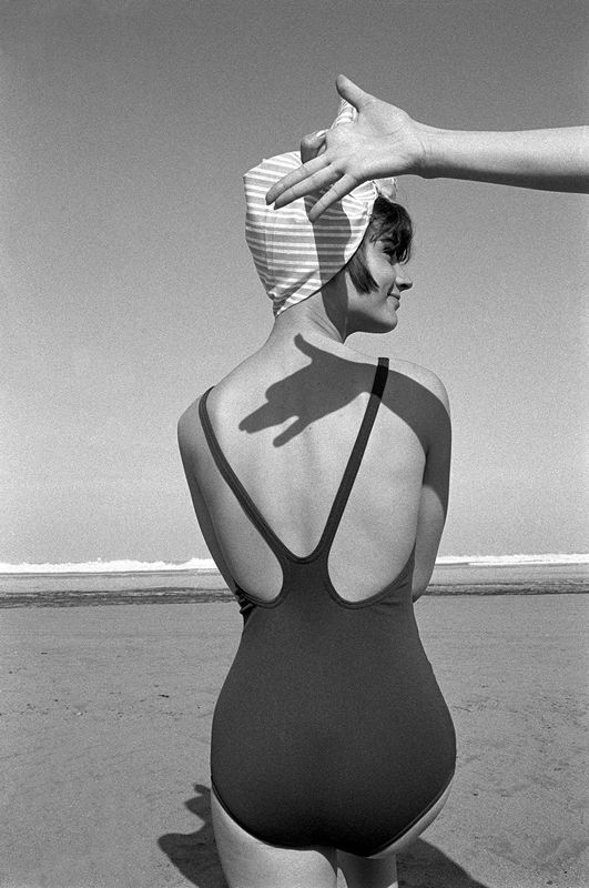 Brian Duffy, Beach Shadow, Morocco, 1963