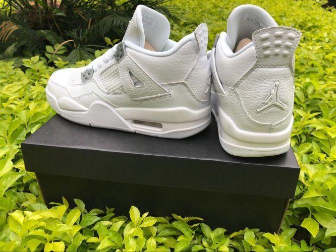 Men's n Women's Air Jordan 4 'Pure