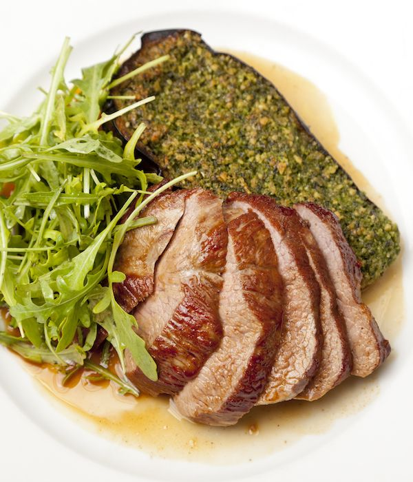 Bryan Webb shares a superb Welsh Lamb with pesto recipe, relying on bold Meditteranean flavours to craft a deceptively simple dish.