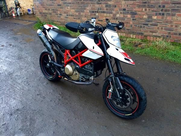 2010 (60) Ducati Hypermotard 1100 1100 Evo SP For Sale In Lochgelly, Fife