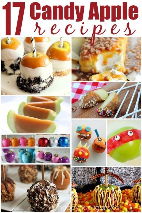 17 Candy Apple Recipe - Happy Hooligans