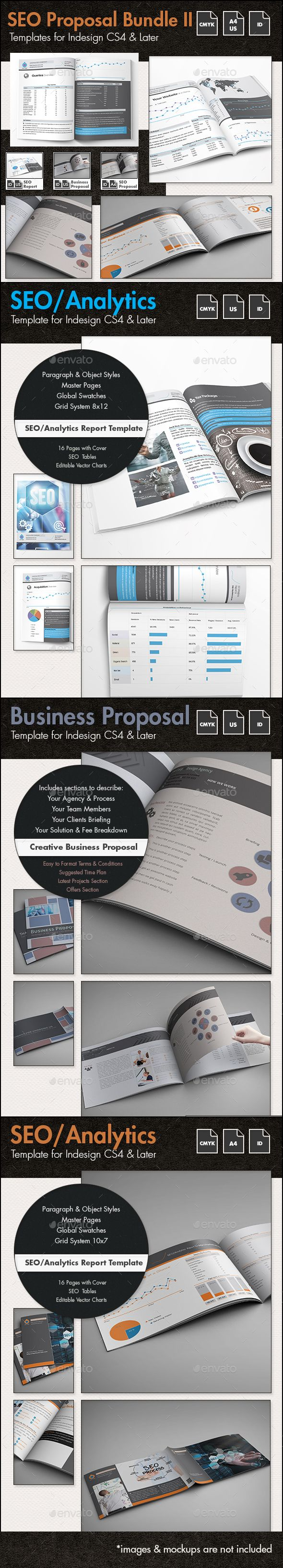 SEO - Business Proposal Templates Bundle II