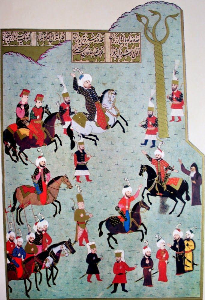 OĞUZ TOPOĞLU : fatih sultan mehmed ve yılanlı sütun, hünername me...