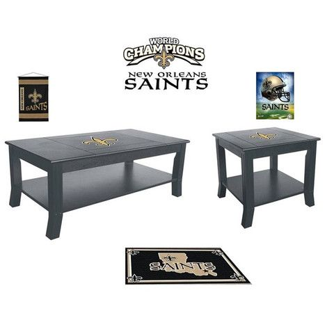 Amazing [[start Tab]] Description Show Your Saints Spirit And Pride By Having Your  Teamu0027s Logo Displayed On The New Orleans Saints Table Set.