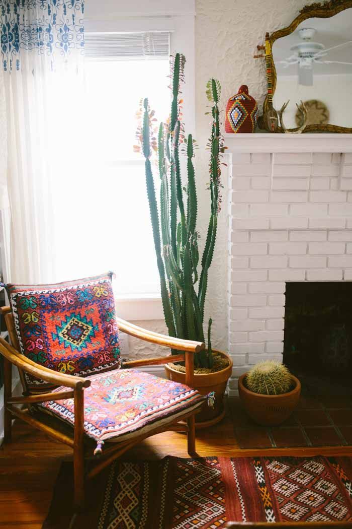 a charming bohemian home in west palm beach fl designsponge - Mexican Interior Design Ideas