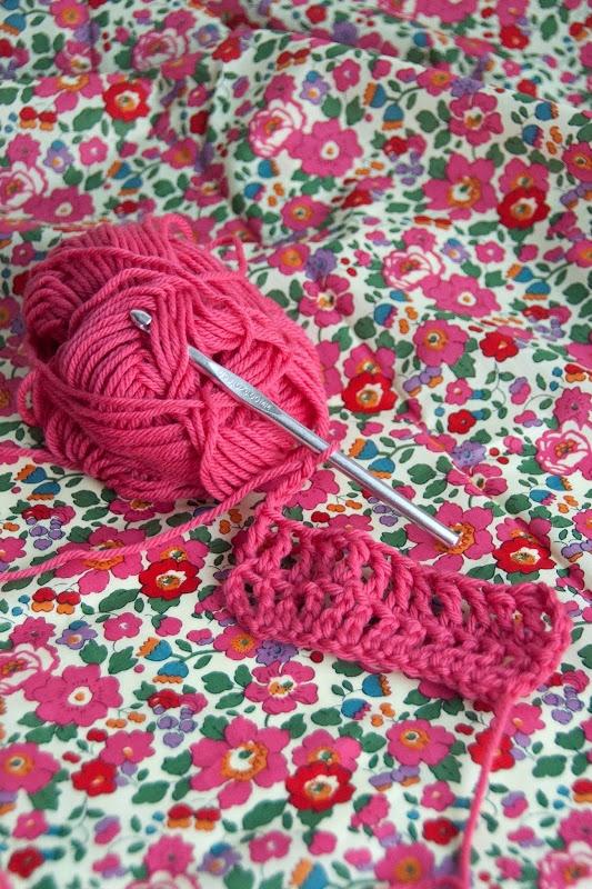 Best Blog on learning to crochet.