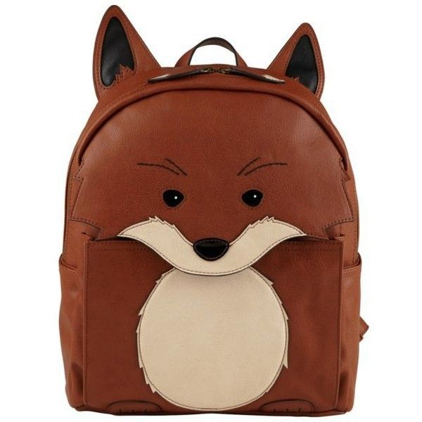 Backpacks featuring polyvore, fashion, bags, backpacks, accessories, clothing, purses, backpacks bags, brown bag, rucksack bag, brown backpack and knapsack bags