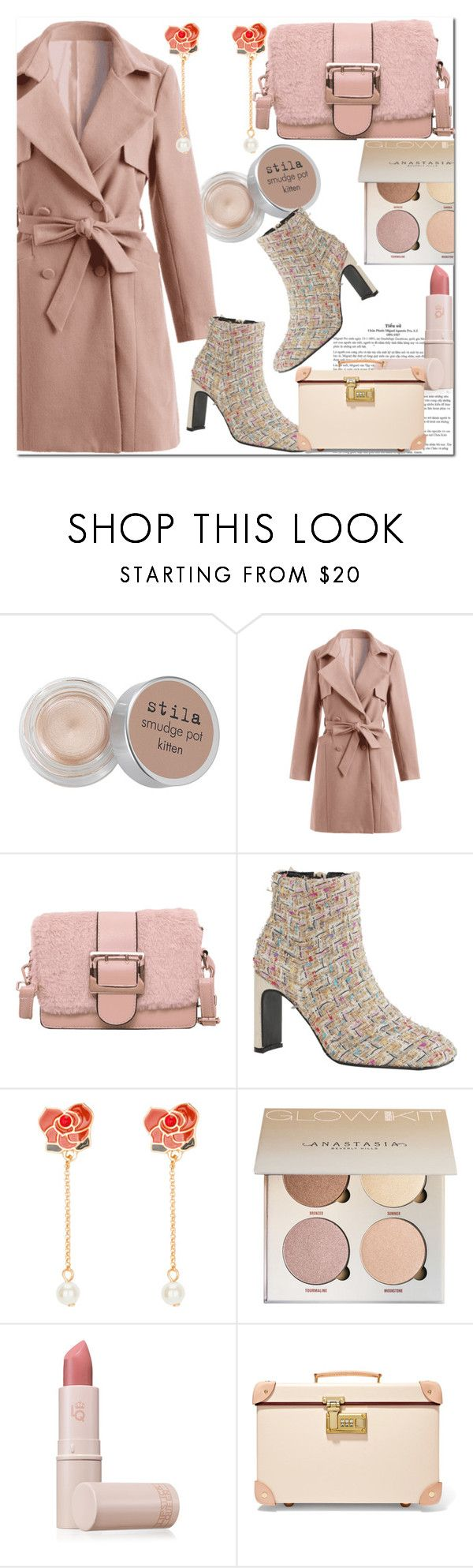 """Fashion style"" by majaa12 ❤ liked on Polyvore featuring Stila, Lipstick Queen and Globe-Trotter"