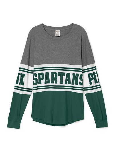 Michigan State University Varsity Crew - PINK - Victoria's Secret